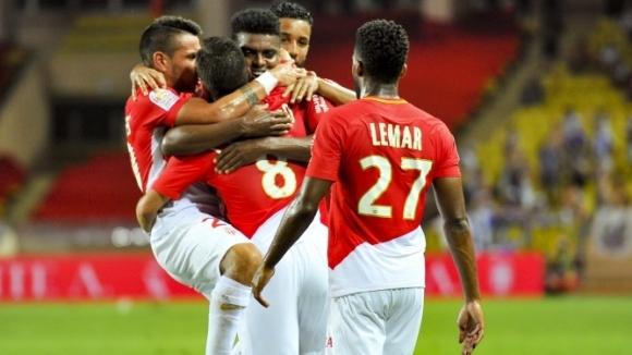 Шампионът на Франция Монако записа първа победа в Лига 1