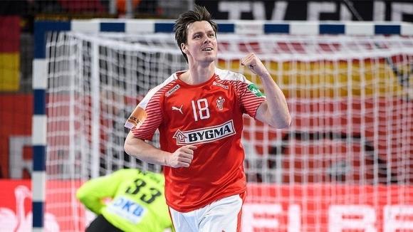 Дания победи Германия с 26:25 гола и се доближи максимално