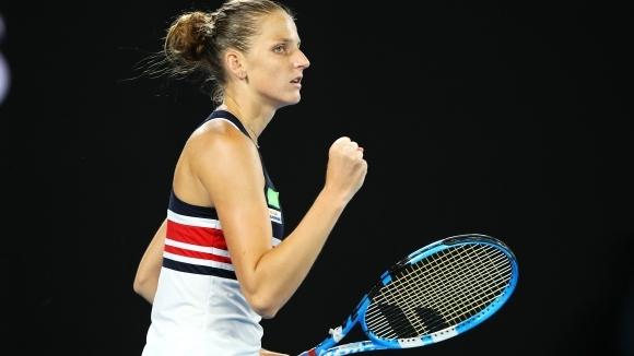 Шестата поставена в схемата на Australian Open Каролина Плишкова очаквано