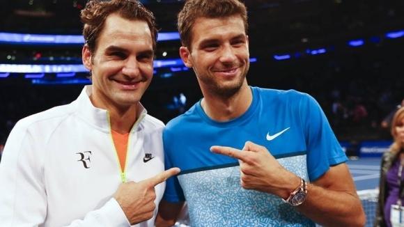 """Рекордьорът по титли от """"Големия шлем"""" Роджър Федерер отново се"""