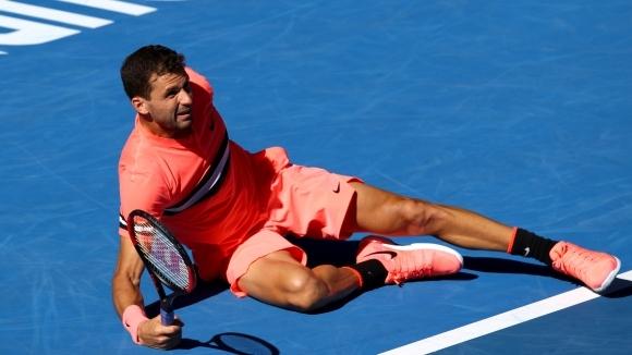 Григор Димитров е на крачка от втори пореден полуфинал на