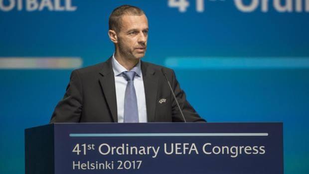 Президентът на УЕФА Александър Чеферин сподели плановете на ръководената от