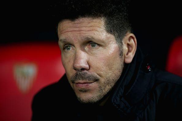 Старши треньорът на Атлетико Мадрид Диего Симеоне пое отговорността за