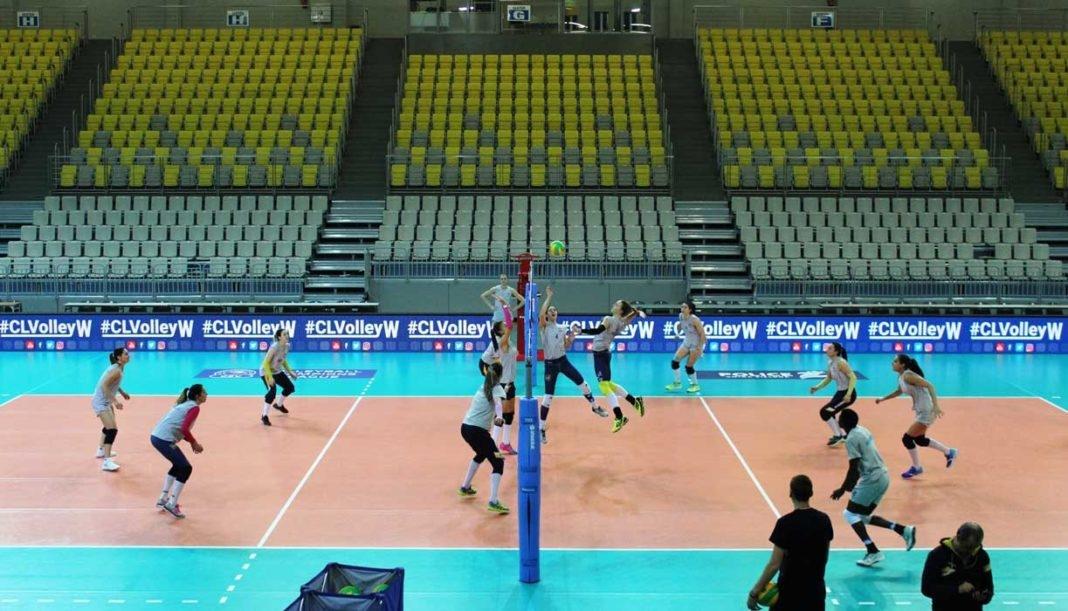 Марица (Пловдив) направи първата си тренировка в зала Видовисково-Спортова в
