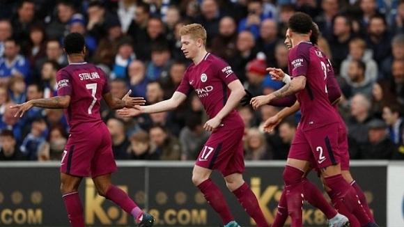 Манчестър Сити продължава на 1/8-финалите на ФА Къп, след като