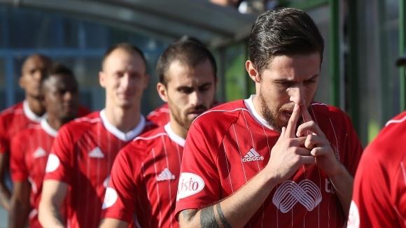 Халфът на ЦСКА-София Рубен Пинто ще направи днес първа тренировка