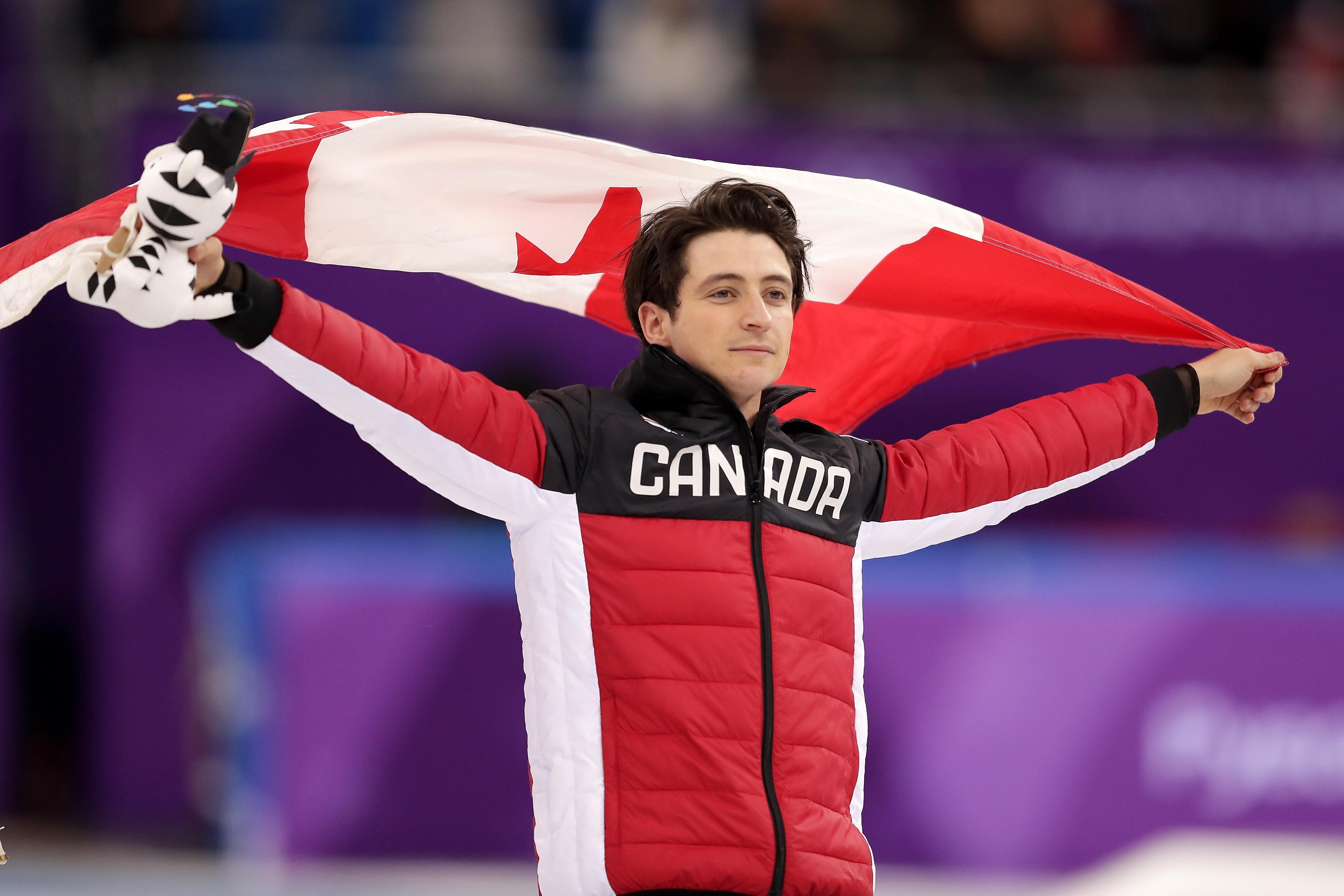 Капитанът на отбора на Канада по фигурно пързаляне Скот Мойр