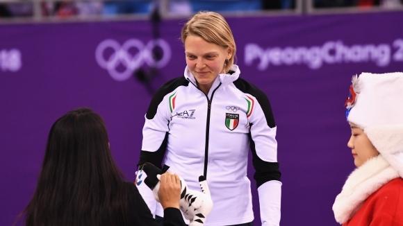 Ариана Фонтана спечели първия златен медал от олимпийски игри в