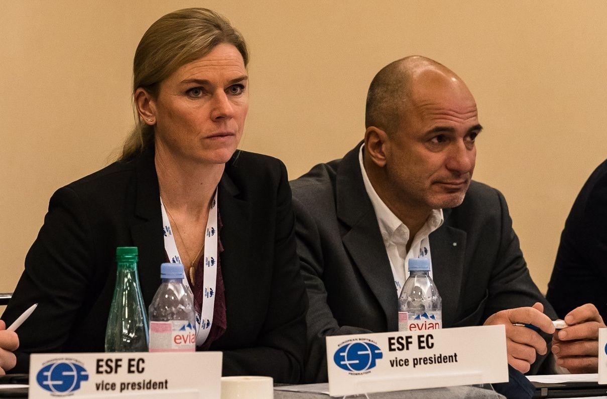 Президентът на българската федерация по софтбол (БФС) и вицепрезидент на