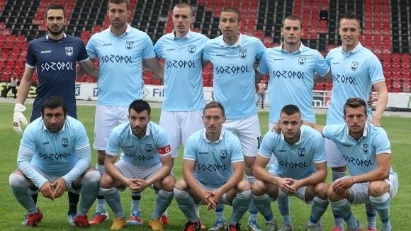 Намиращият се на предпоследното, 15-о място във Втора лига Созопол