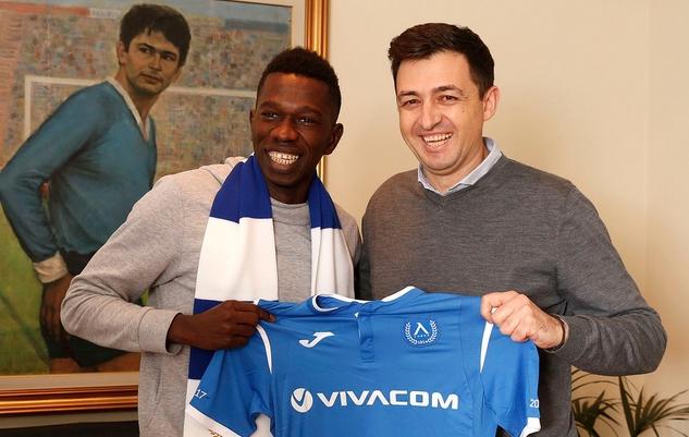 Сенегалският халф Хали Тиам подписа договор с Левски. 24-годишният играч
