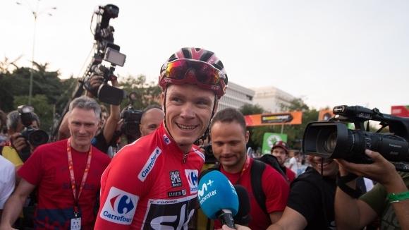Британският колоездач Крис Фруум ще се състезава през тази година