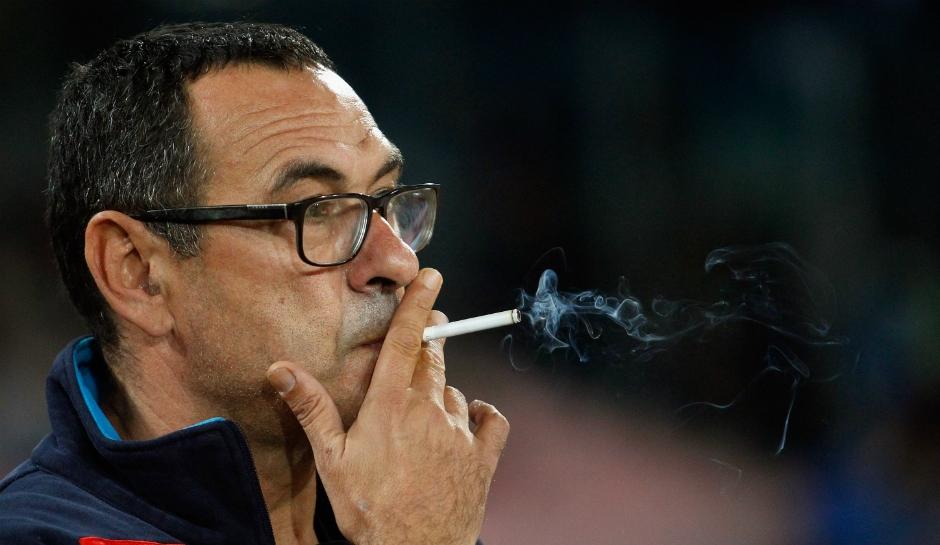 Треньорът на Наполи Маурицио Сари определено се опитва да спечели