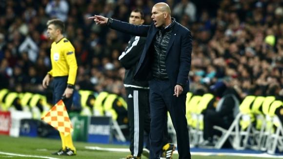 Треньорът на Реал Мадрид Зинедин Зидан остана много доволен от