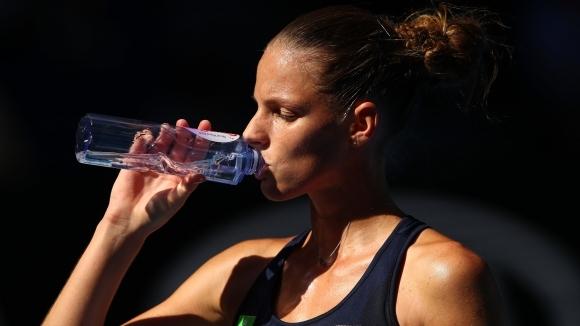Защитаващата титлата си Каролина Плишкова (Чехия) отпадна в третия кръг