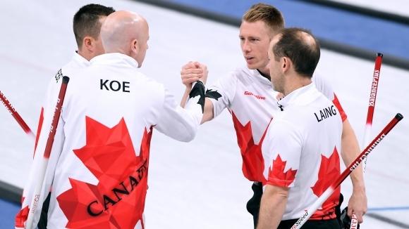 Кевин Куи отбеляза три точки в третия енд и Канада