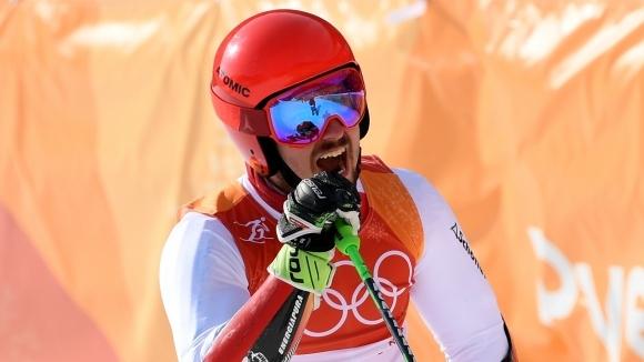 Марсел Хиршер продължава да мачка наред в алпийските ски на