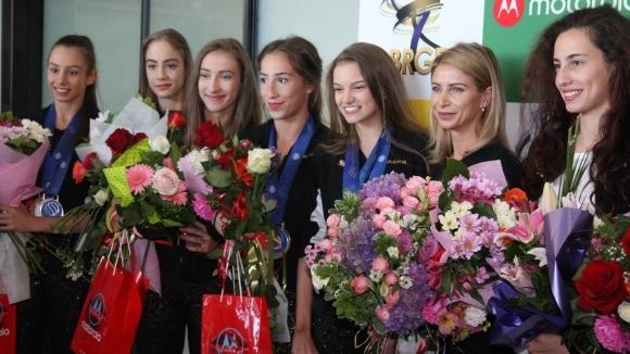 Седем медала спечелиха български състезателки на турнира по художествена гимнастика