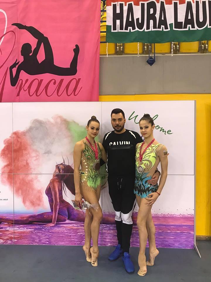 Общо седем медала спечелиха българките гимнастички на международния турнир по