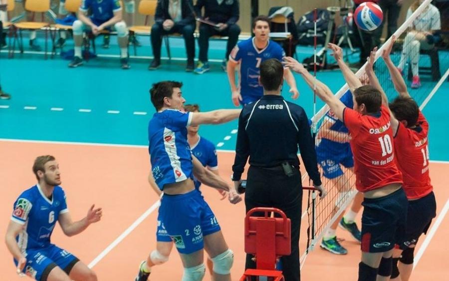 рифон Лапков изигра силен мач за Абиант Ликургус (Грьонинген), но