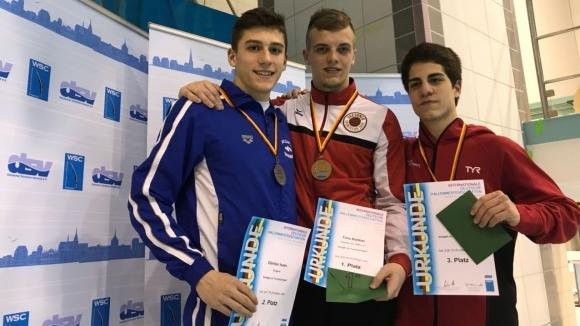На състоялия се шампионат по скокове във вода на Германия