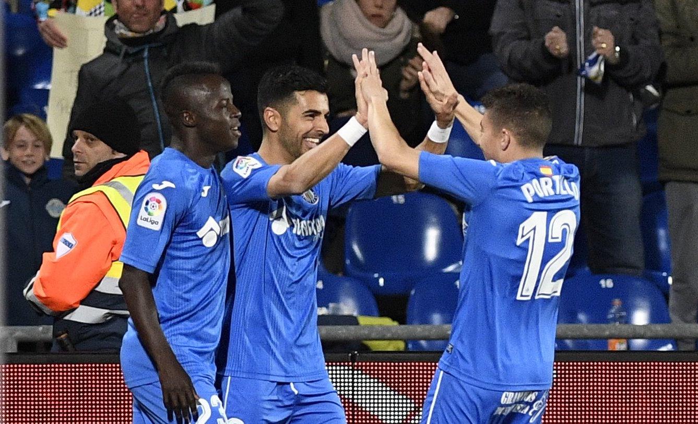 След героичното равенство срещу Барселона в миналия кръг, Хетафе постигна