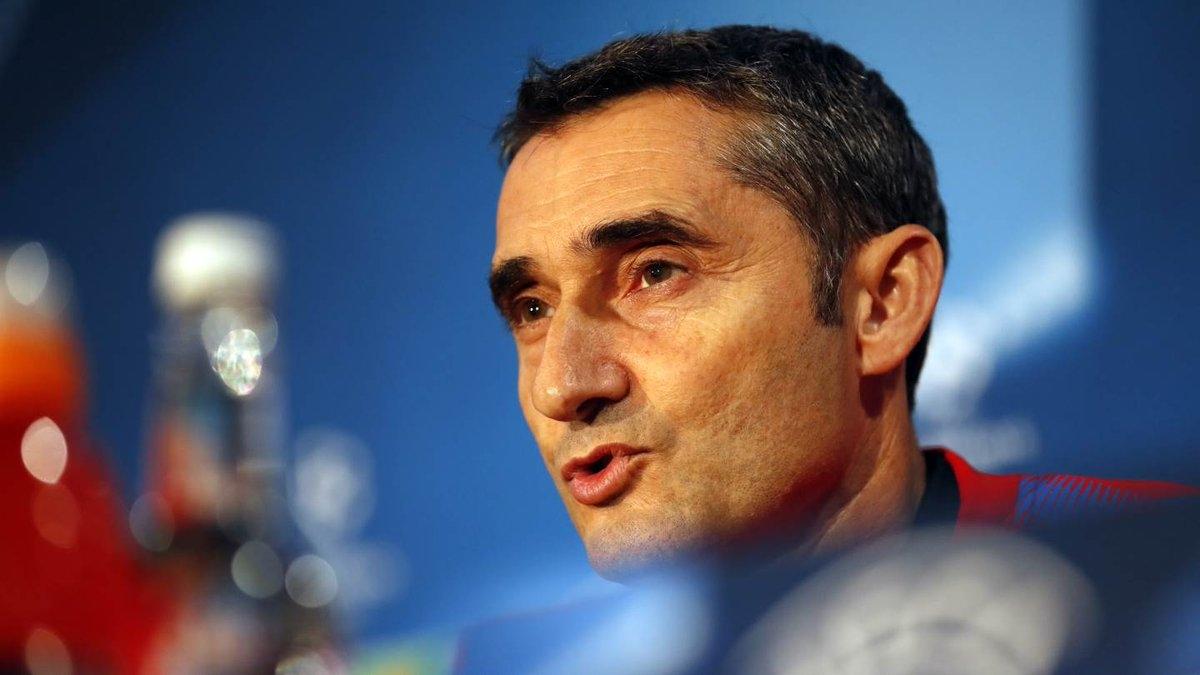Наставникът на Барселона Ернесто Валверде очаква трудно гостуване на Челси