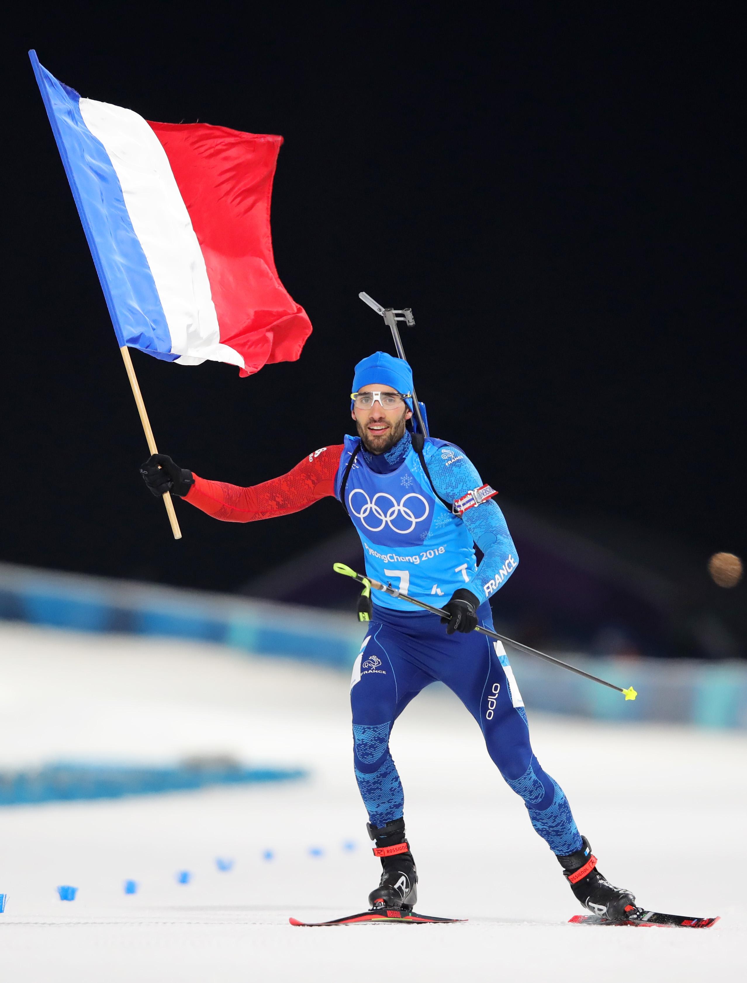 Легедната на световния биатлон Мартен Фуркад спечели третото си олимпийско