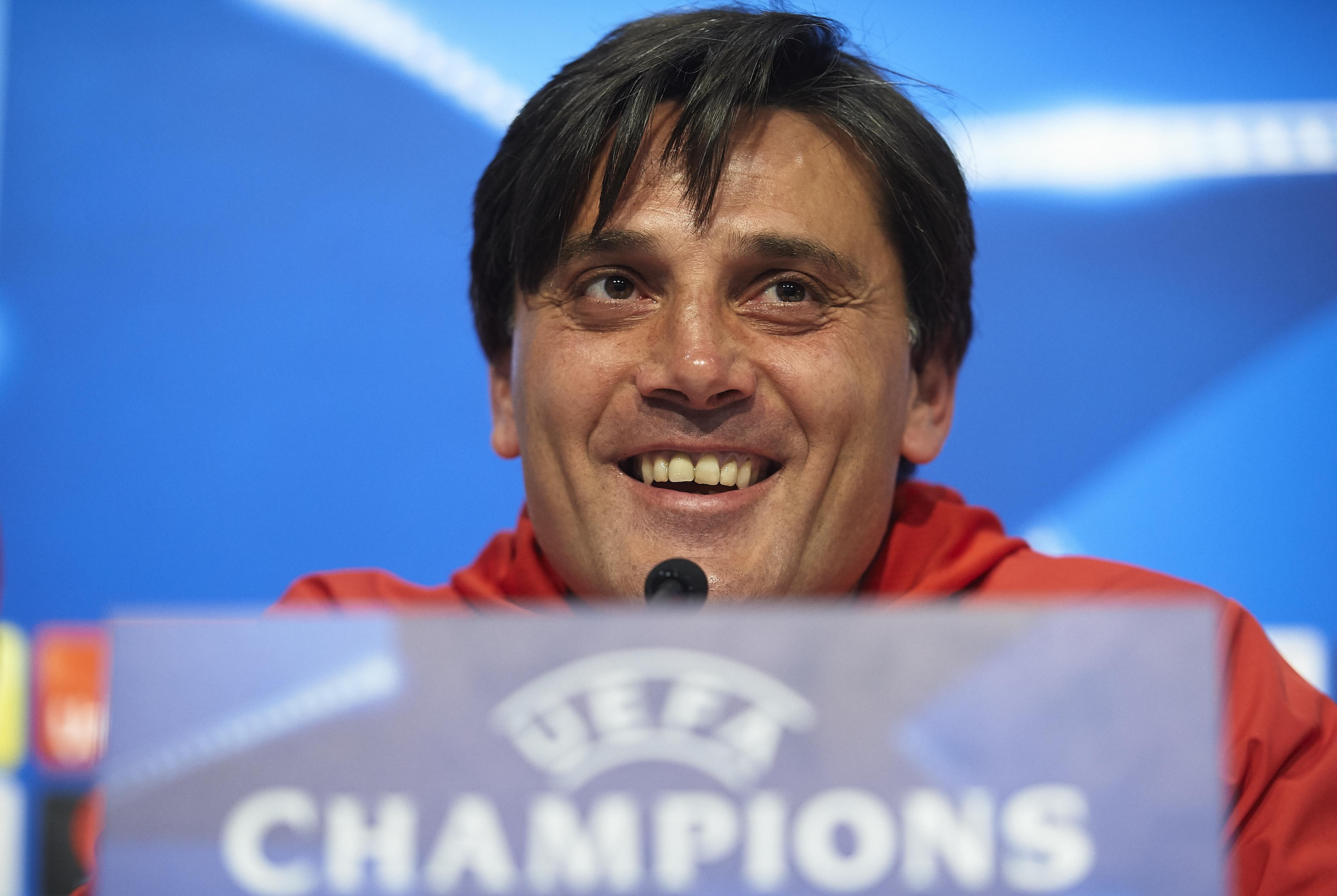 Старши треньорът на Севиля Винченцо Монтела заяви, че единственият шанс