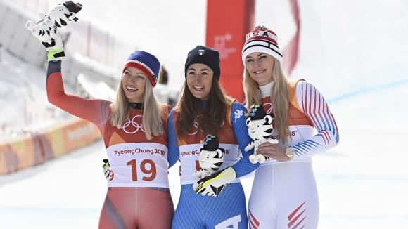 Всички медалисти от 12-ия ден на зимните олимпийски игри в