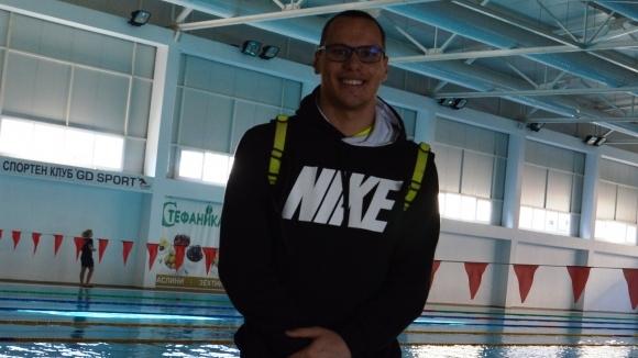 Плувният шампион Антъни Иванов, който през 2017-агодина спечели бронзов медал