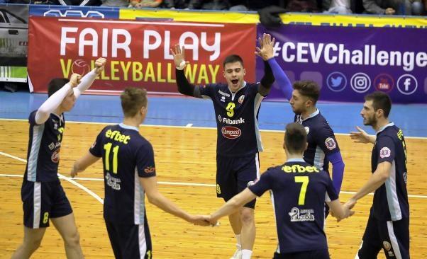 Волейболният отбор на Монтана спечели гостуването на Миньор (Перник) с