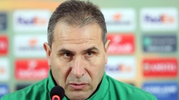 Старши треньорът на Лудогорец Димитър Димитров даде пресконференция преди срещата-реванш
