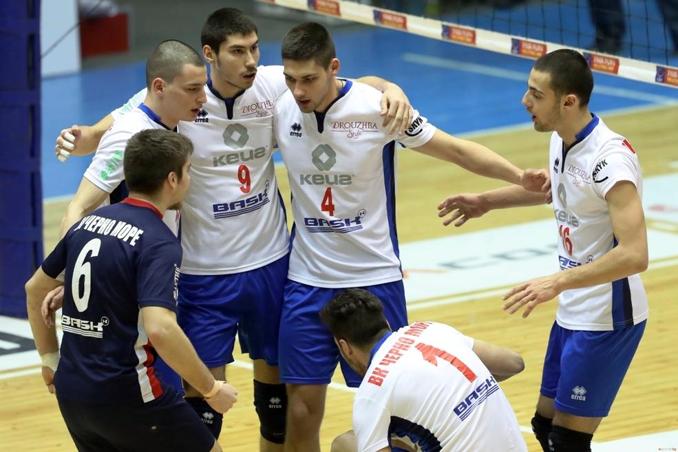 Волейболистите на Черно море (Варна) прекъснаха черната си серия от