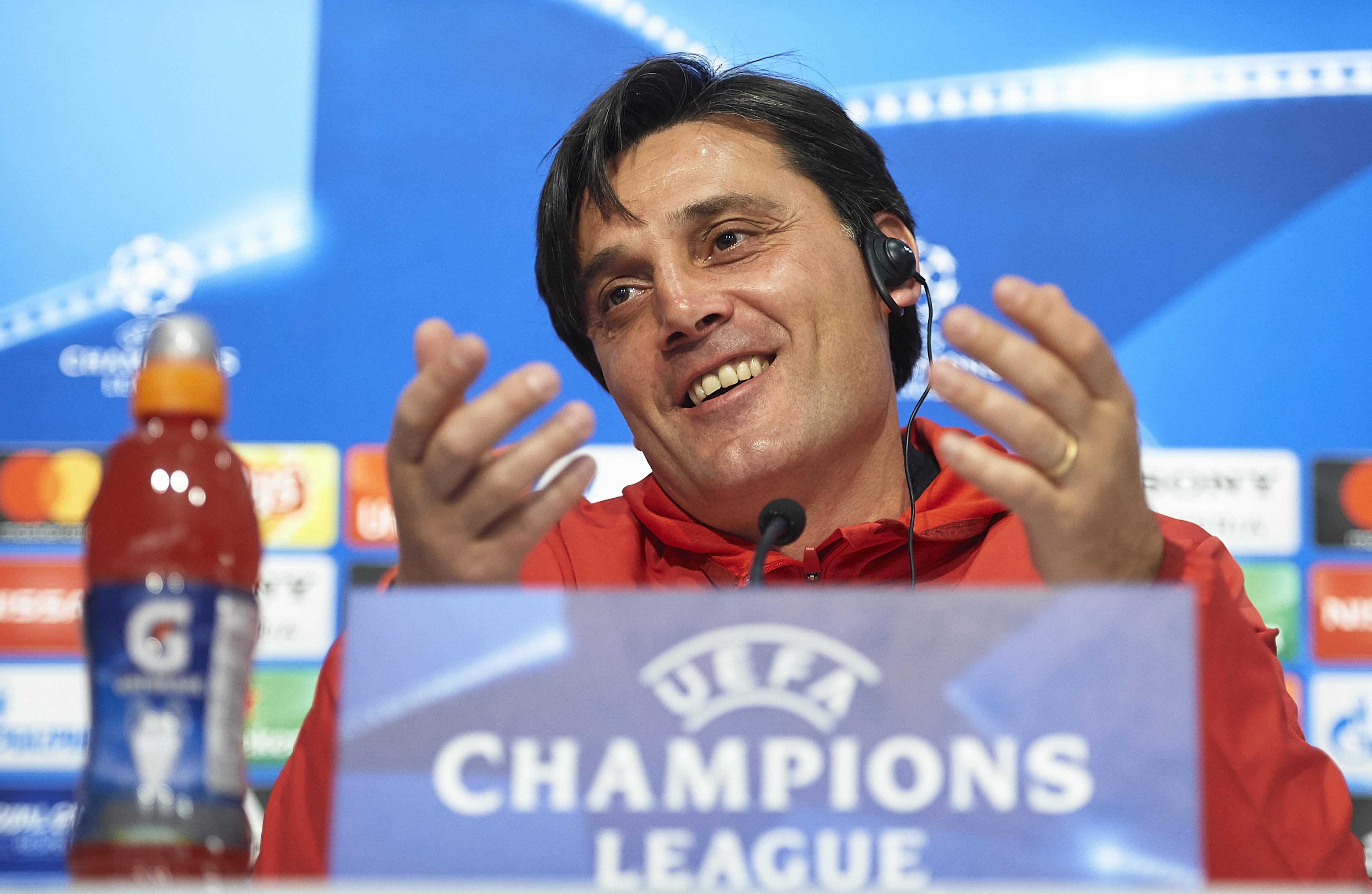Треньорът на Севиля Винченцо Монтела изрази възхищението си от играта