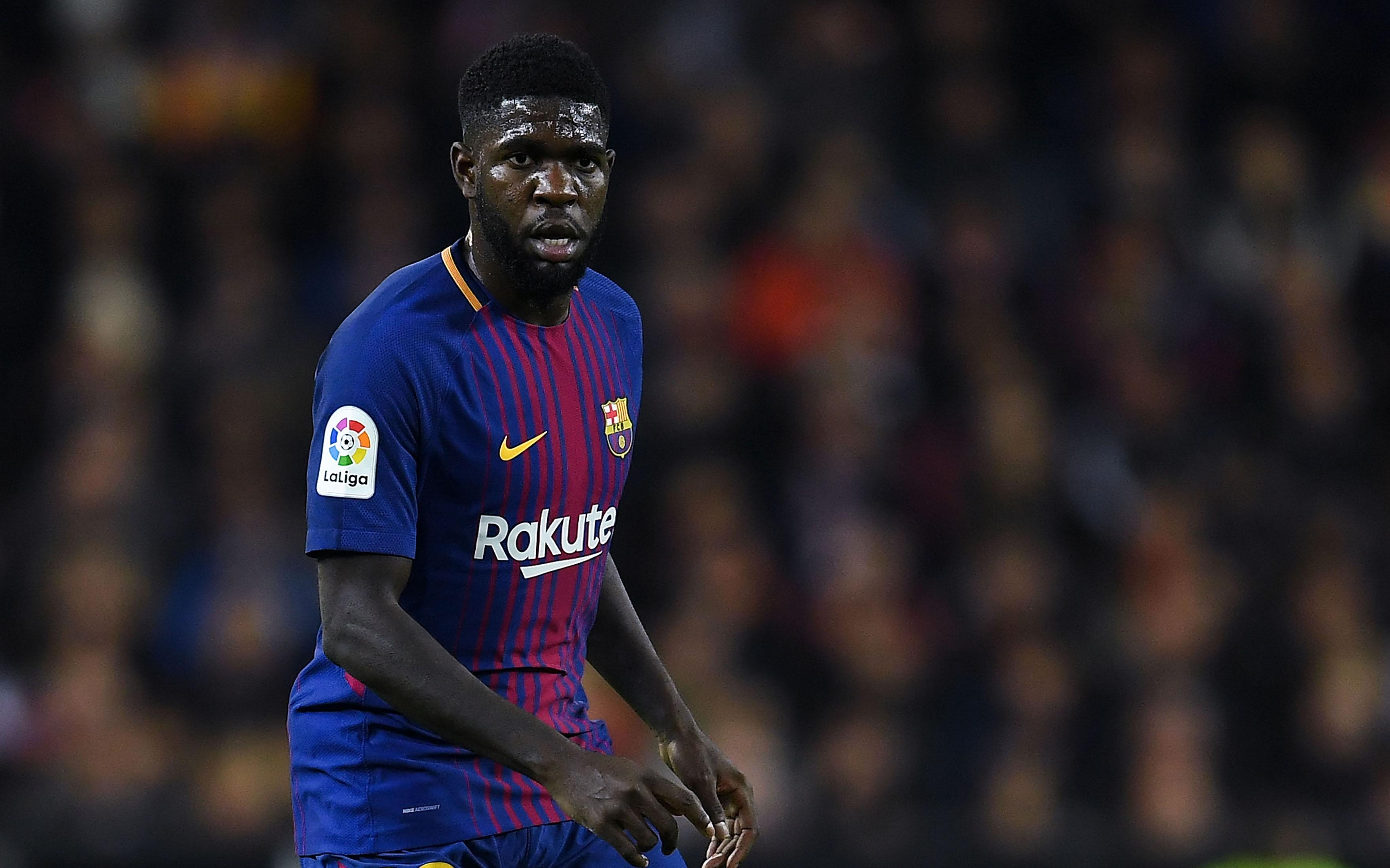 """Защитникът на Барселона Самюел Юмтити обмисля възможността да напусне """"Камп"""