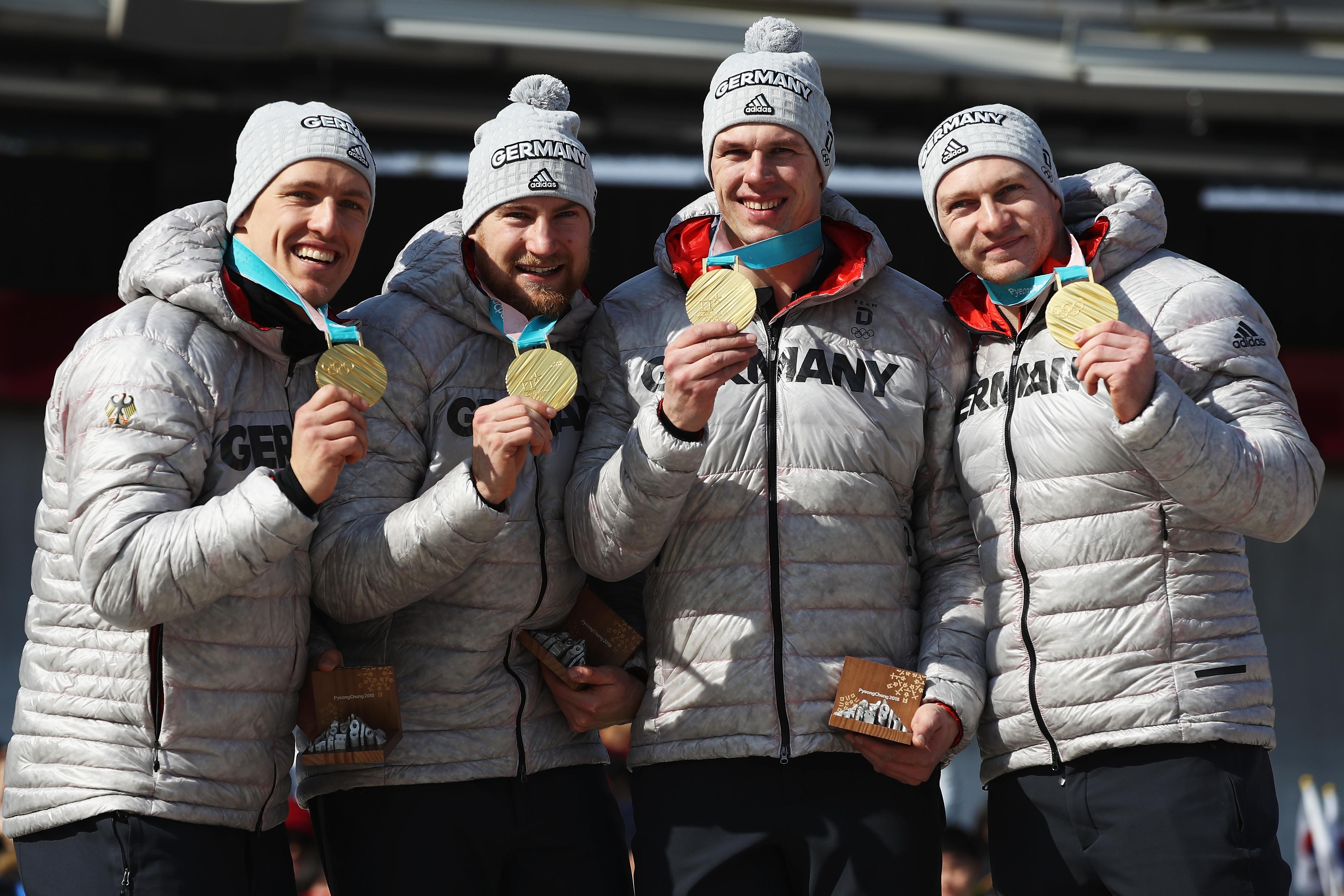Мъжката четворка бобслей на Германия спечели златото и така страната