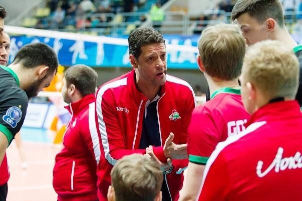 Селекционерът на мъжкия ни национален волейболен отбор Пламен Константинов и