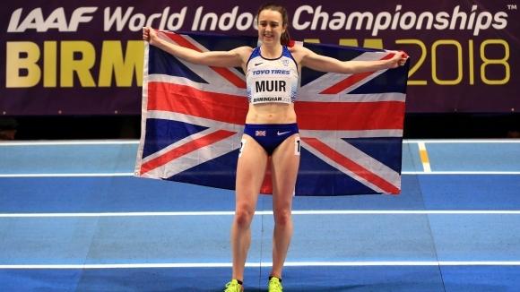 Лаура Мюир спечели бронзов медал на 3000 метра в първия