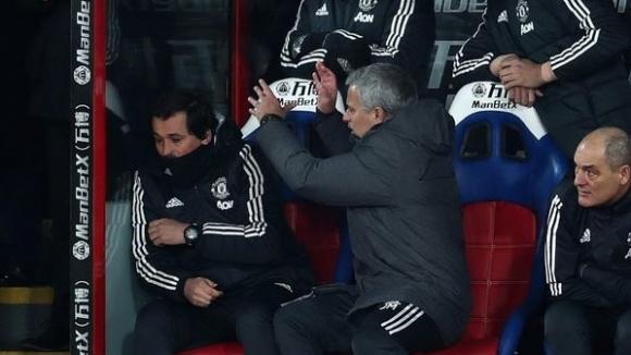 Мениджърът на Манчестър Юнайтед Жозе Моуриньо изхаби доста нерви по