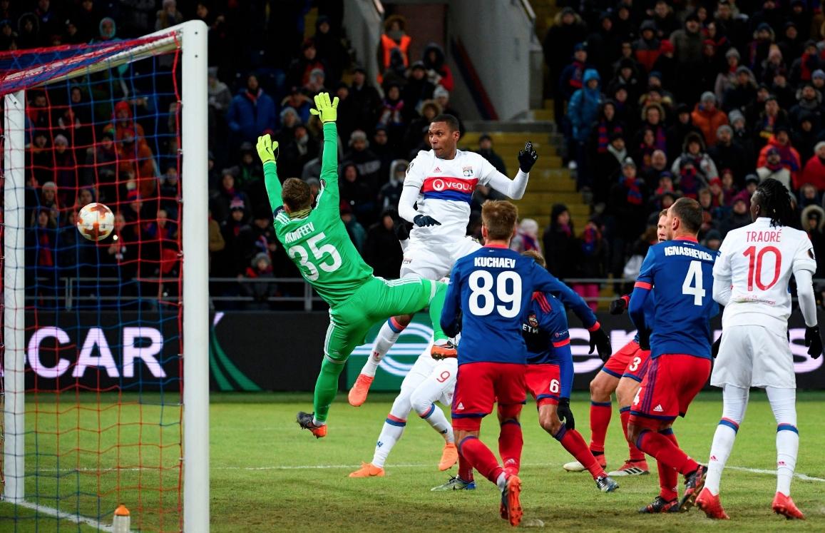 Лион взе важна победа с 1:0 като гост на ЦСКА