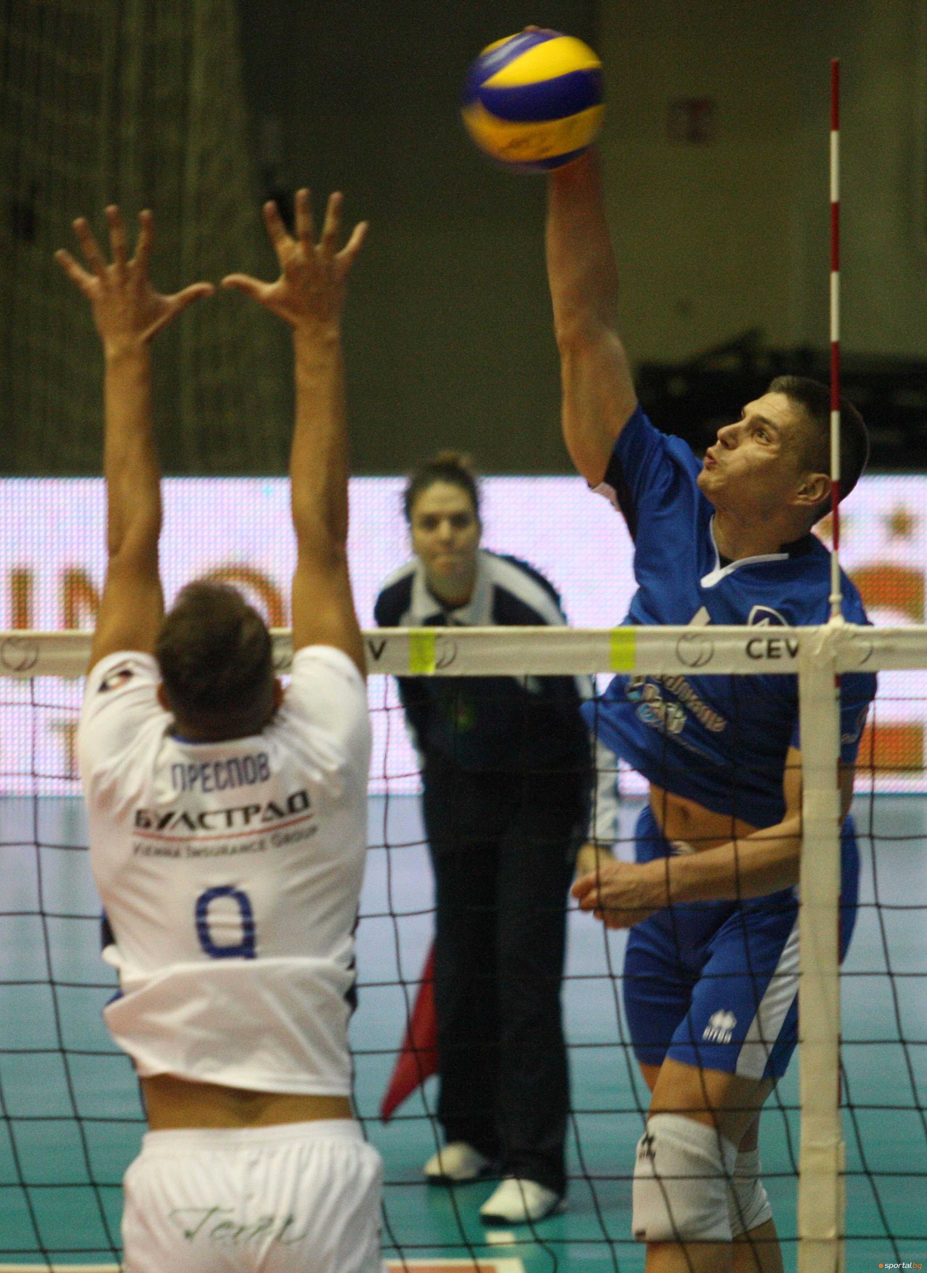 Волейболистите на Пирин се изправят срещу Левски София днес в