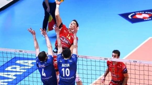 Волейболният първенец на Турция Халкбанк (Анкара), където играе българският национал