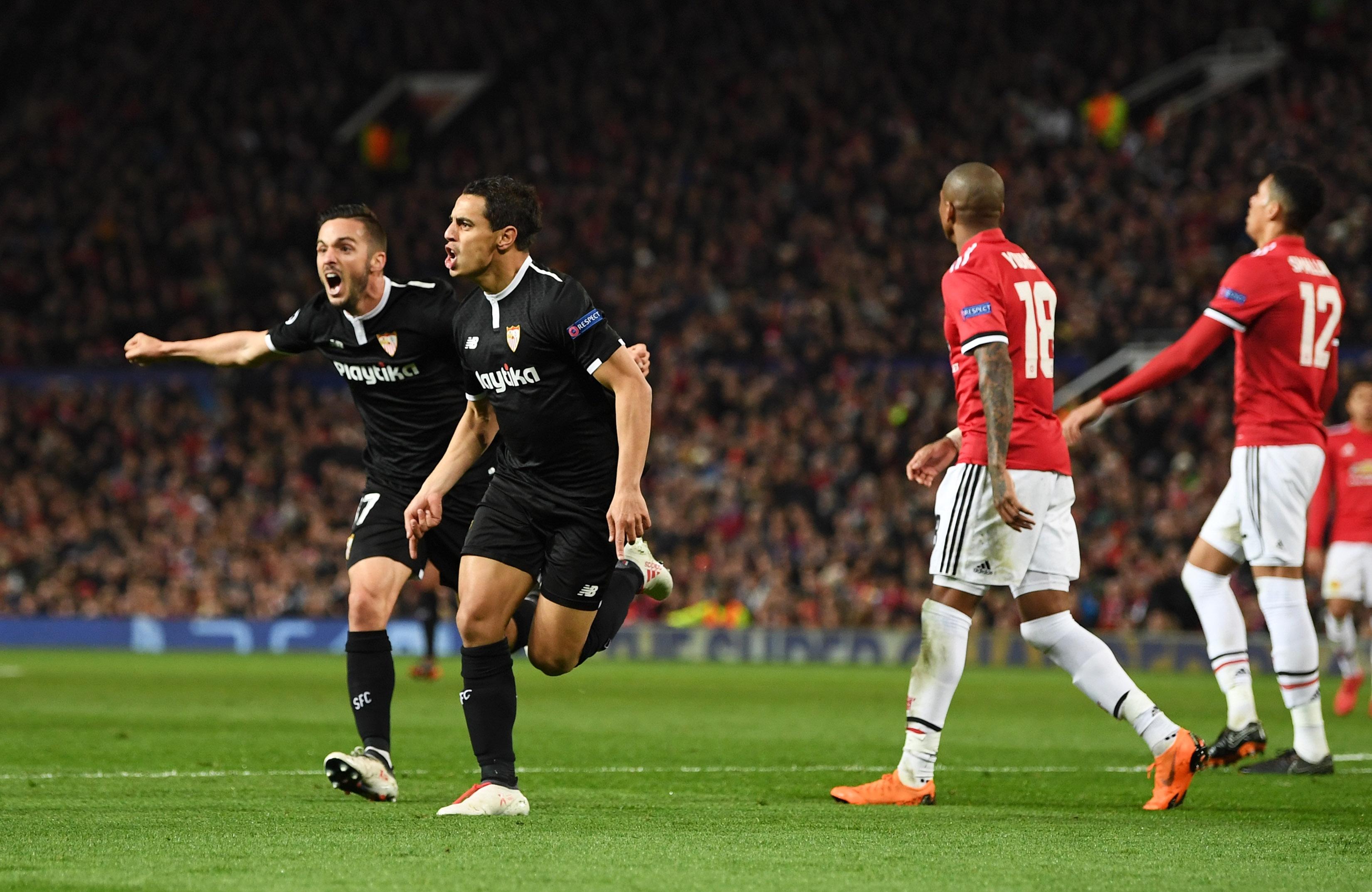 Манчестър Юнайтед завърши 0:0 срещу Севиля в първия мач от