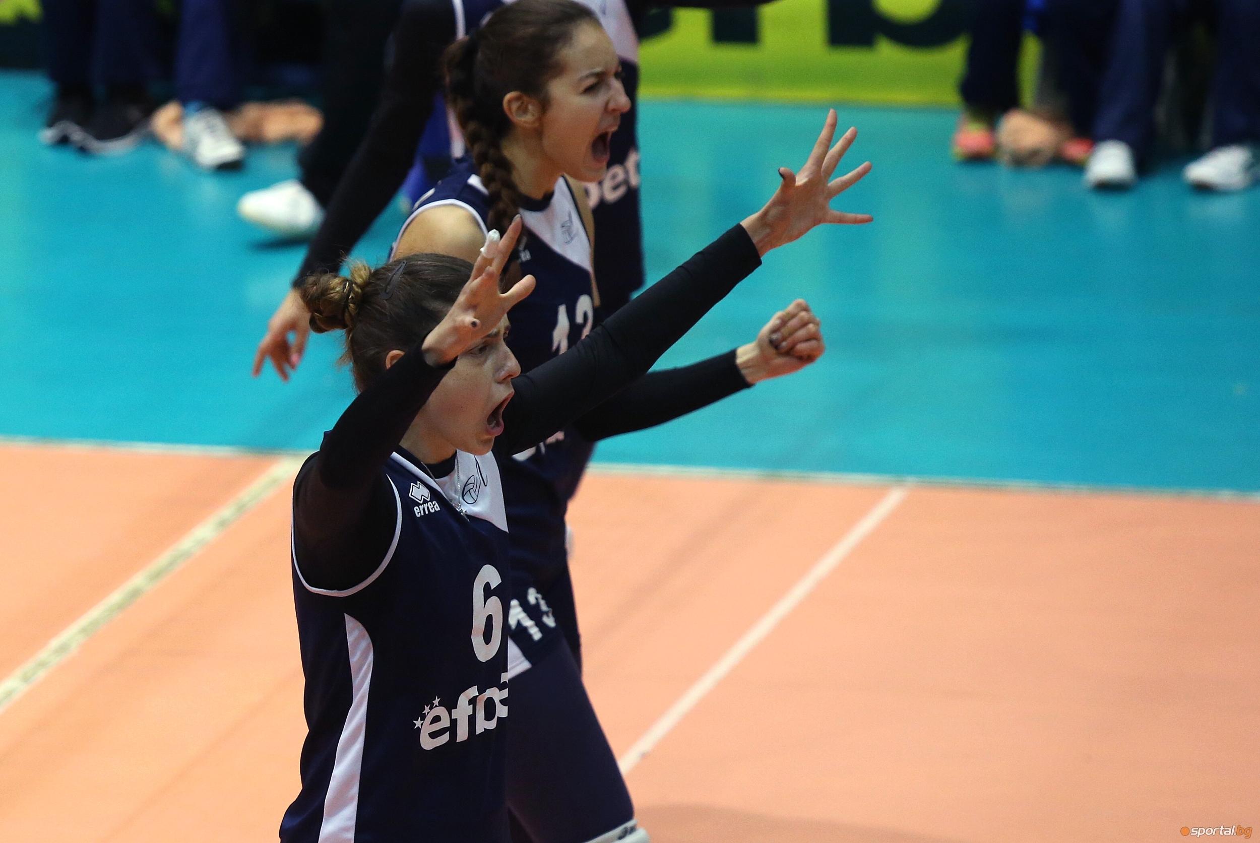 Волейболистката на Левски и националка Мирослава Паскова е стартирала кариерата