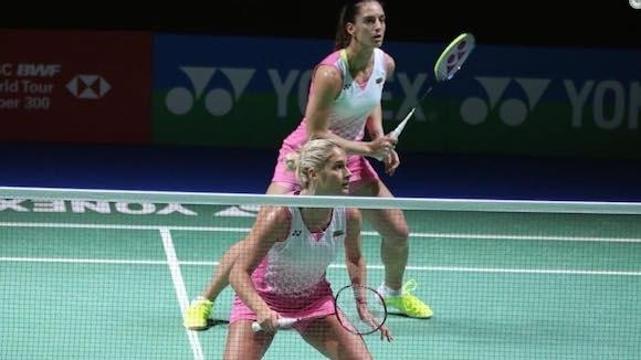 Европейските вицешампионки Стефани Стоева и Габриела Стоева отпаднаха във втория