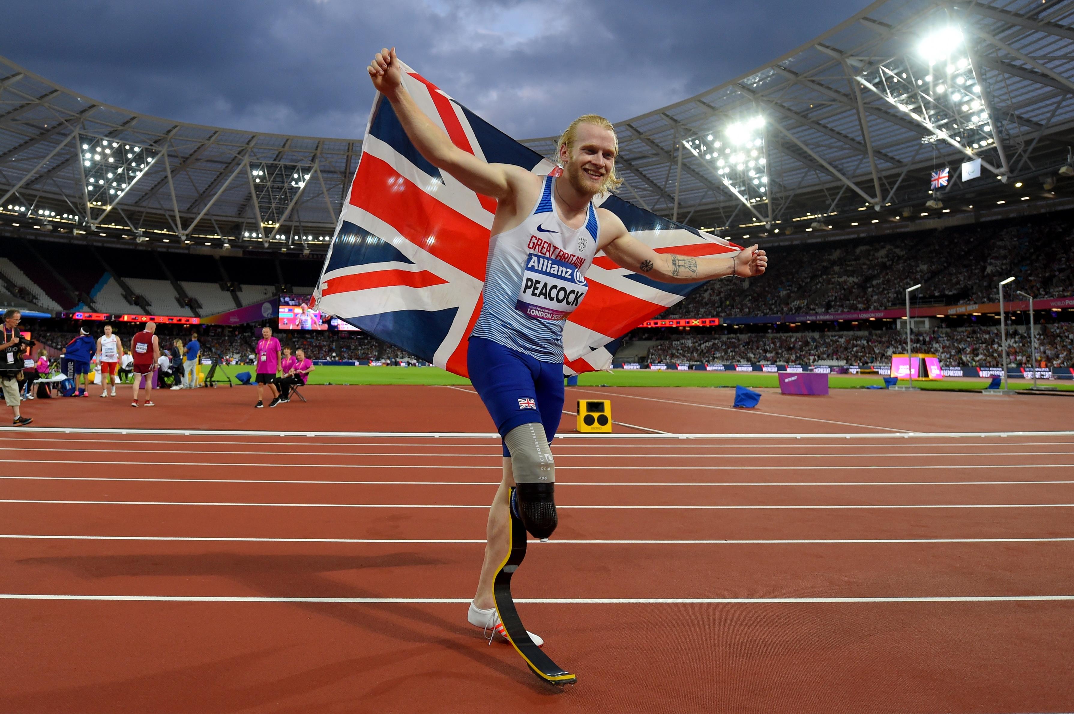 Двукратният олимпийски, световен и европейски шампион на 100 метра за
