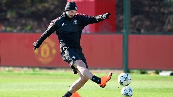 Нападателят на Манчестър Юнайтед Златан Ибрахимович намекна, че може да