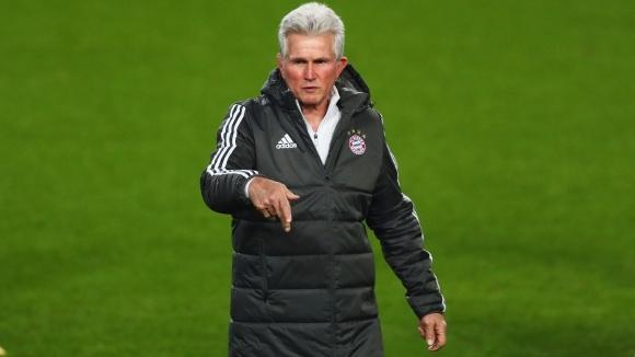 Старши треньорът на Байерн (Мюнхен) Юп Хайнкес запази спокойствие на
