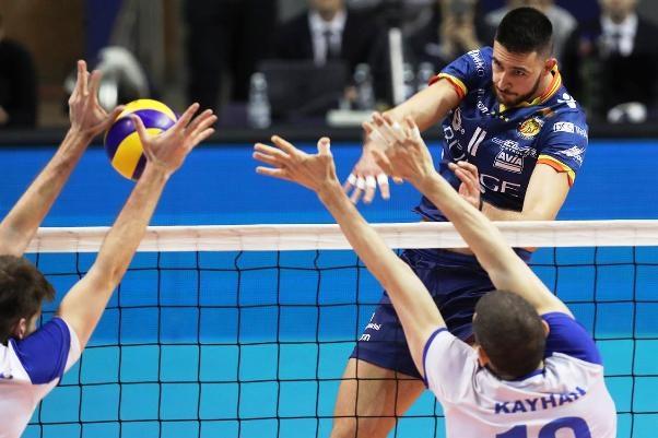 Българският център и неговият италиански отбор Бундже (Равена) нямаше шансове